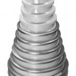 ceramic machine parts cemanco wire drawing step cone zirconium zirconia oxide