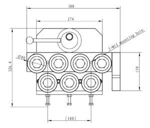 cemanco 7 seven 24 rod straightener wire 7-24mm adjustable roller quick release