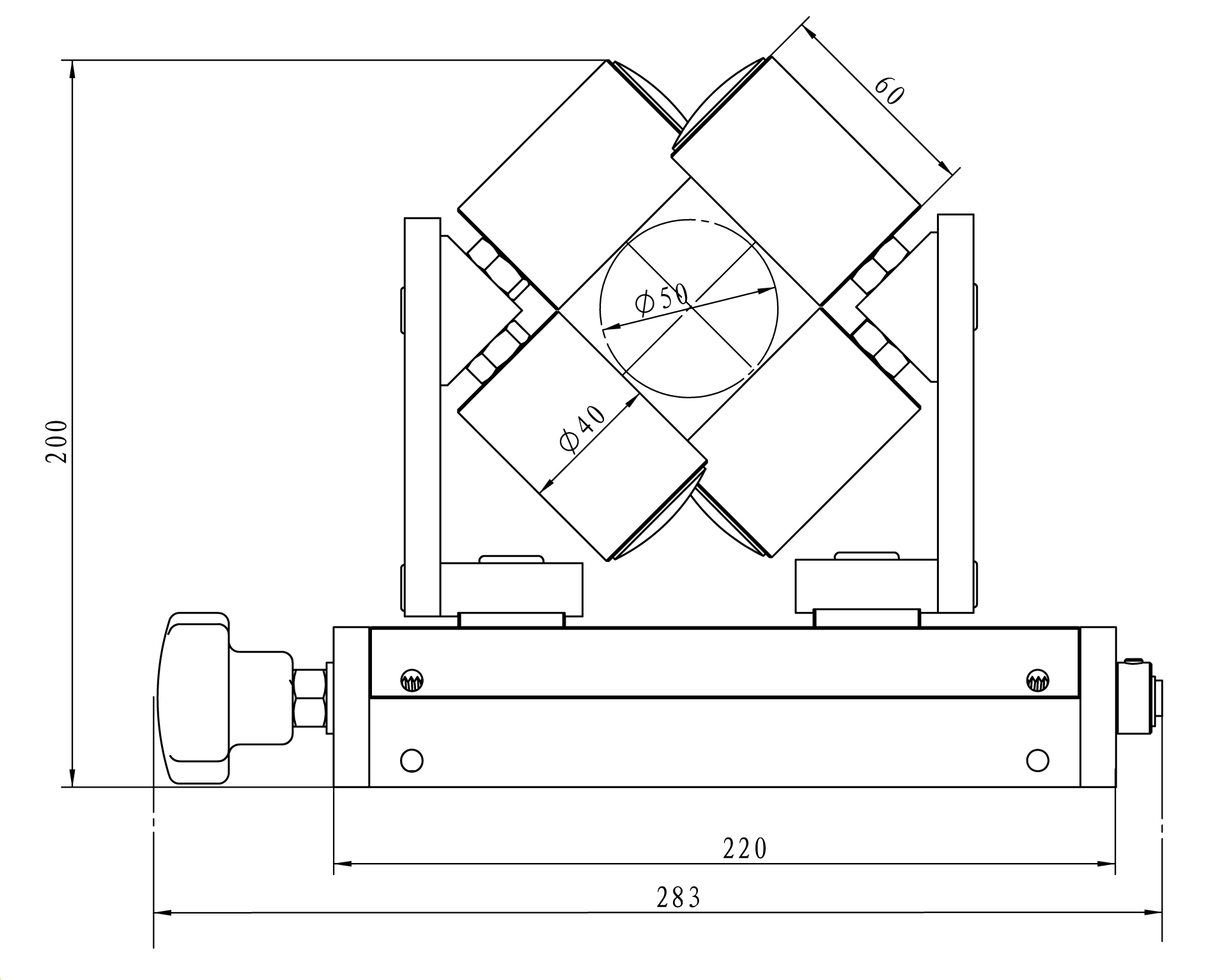 cemanco wire guide 4 four roller adjustable 45 degree