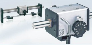 cemanco kmk linear reversing mechanical gear box drive traverse 15 millimeter mm spooling spooler textile