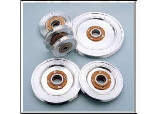 ceramic insert pulleys aluminum oxide custom cemanco wire textile medical