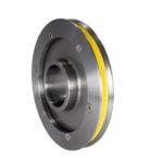 ceramic machine parts cemanco pulley steel insert zirconia zirconium