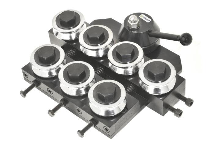 cemanco 7 seven 24 rod straightener wire 7-24mm adjustable roller quick release breakdown