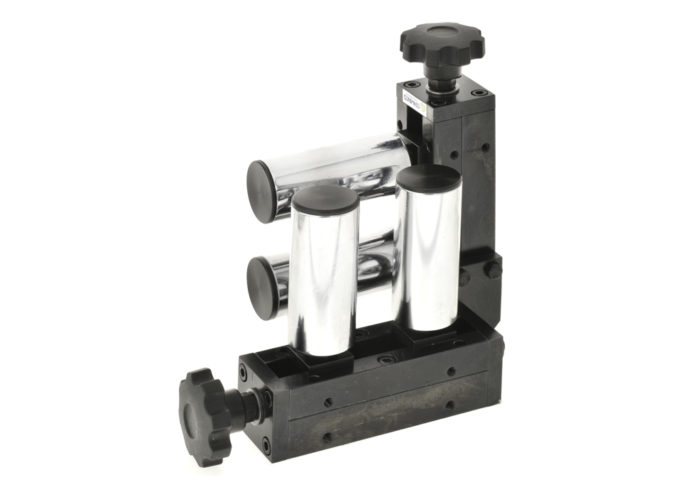 adjustable four 4 roller wire guide cemanco