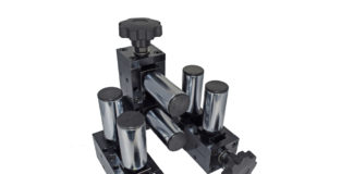 adjustable six roller wire guide 6 cemanco