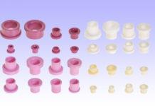 heany™ cosmos™ style ceramic eyelets bushing flange aluminum alumina oxide cemanco wire guide textile medical grommet