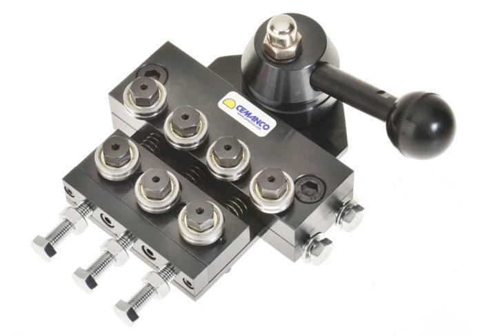 0.8mm 1.5mm quick release wire straightener 7 seven roller adjustable cemanco