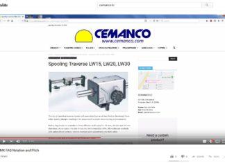 KMK cemanco linear traverse spooling textile wire cable FAQ