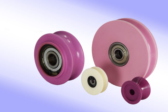 solid ceramic roller aluminum oxide wire cable textiles thread bobbin pulley