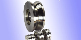 straightner straightening rollers hardened steel u-groove v-groove