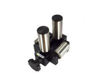 adjustable wire guide four 4 roller hardened steel